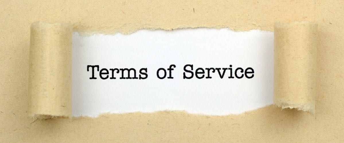 Top 10 Ecommerce Platforms Terms of Service